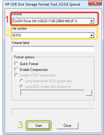 скачать инструкцию для hp usb disk storage format tool