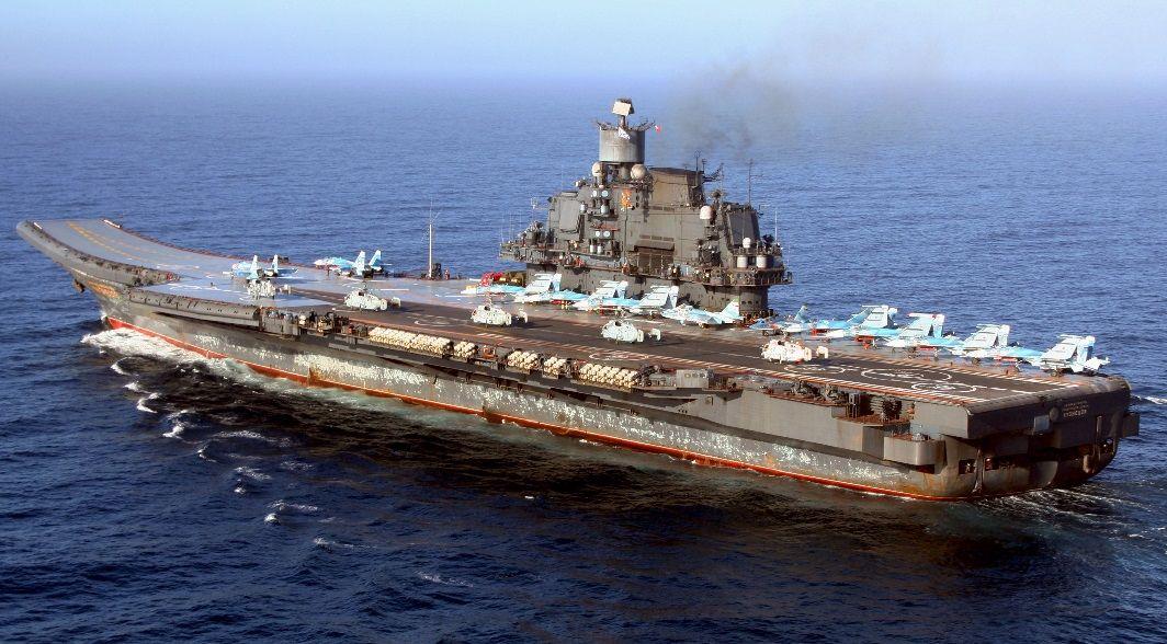 Адмирал Кузнецов в походе
