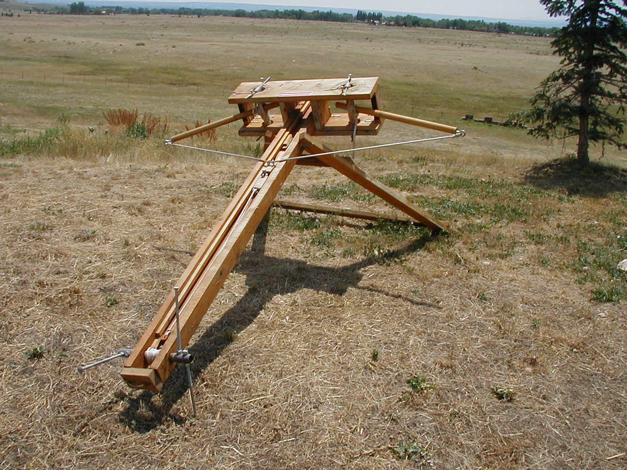 Баллиста - метательная машина