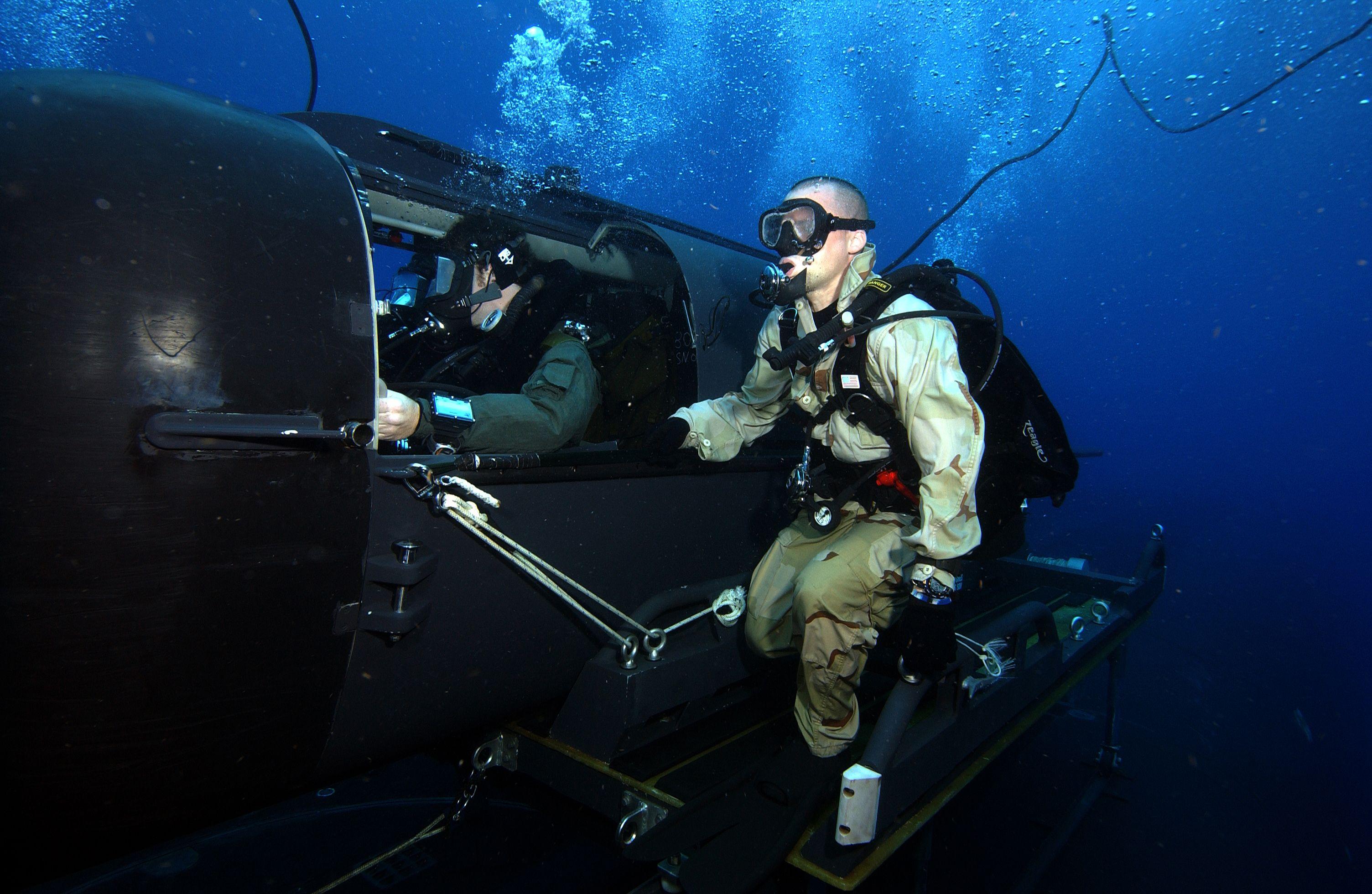 Боевые пловцы МБП