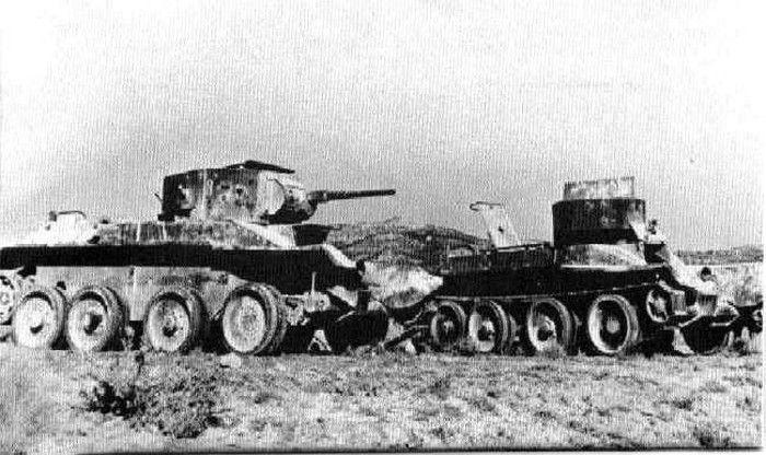 Бт-5 в Испании