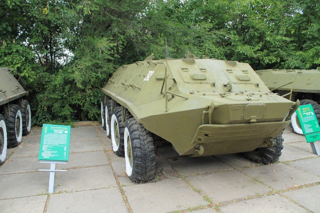 БТР-60 в строю