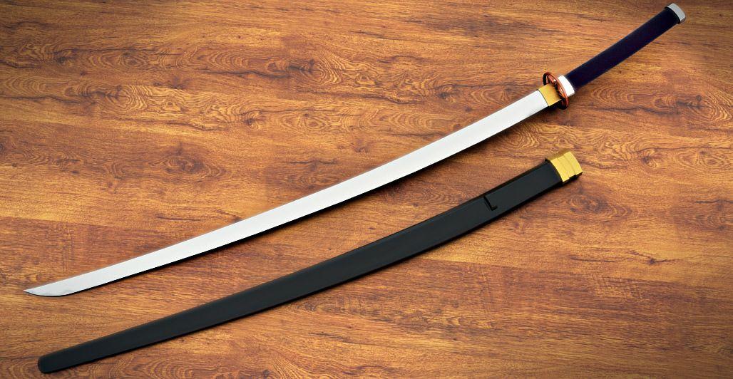 Длинный японский меч