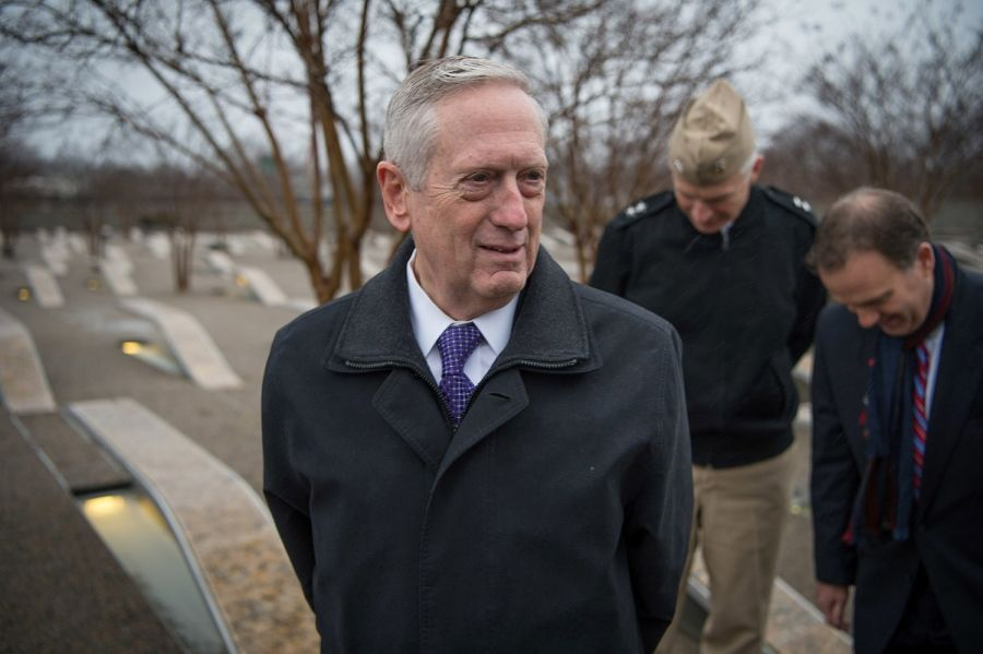 Джеймс Мэттис - министр Обороны США с 2017 года