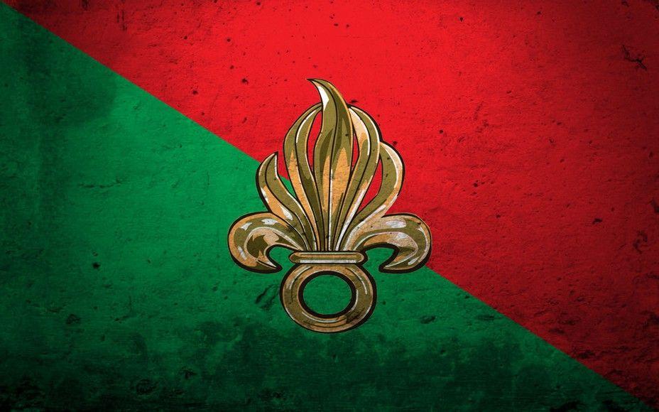 Флаг иностранного Легиона