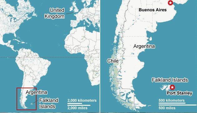 Карта военного конфликта