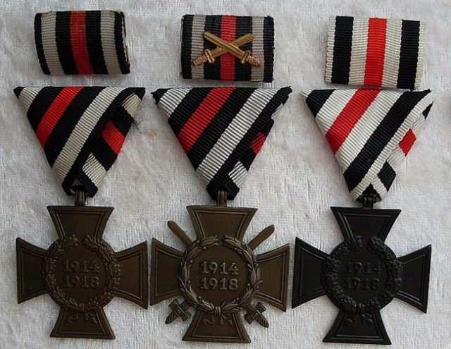 Кресты Первая Мировая