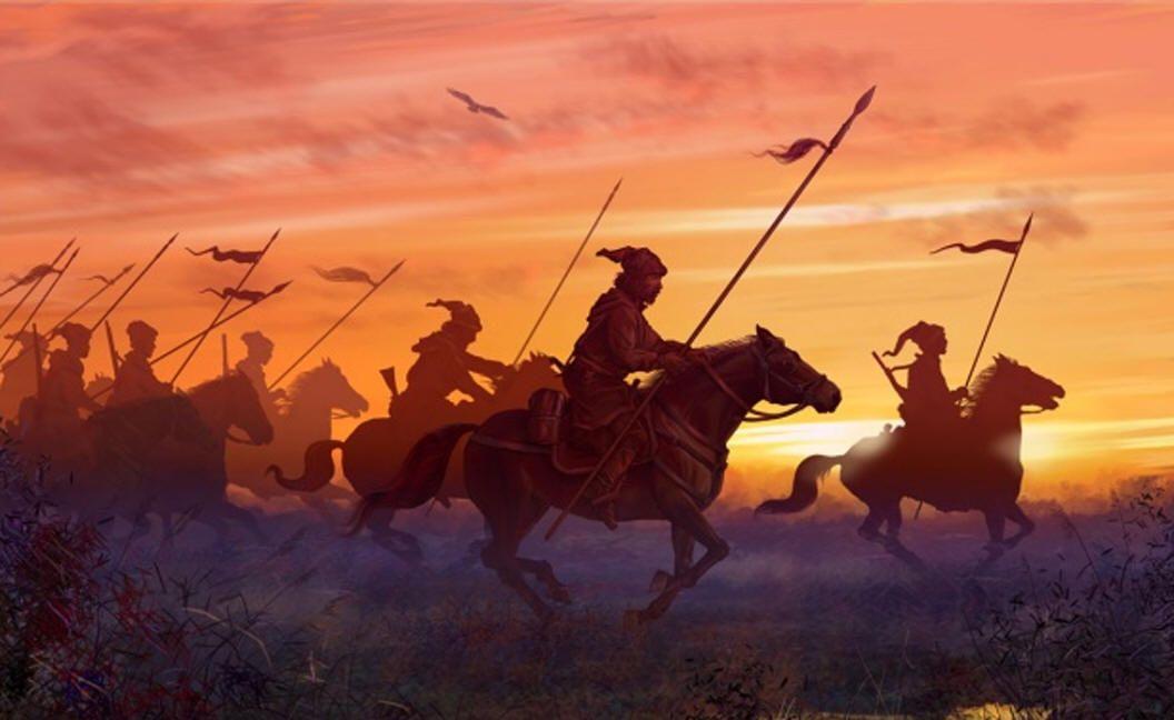 Крымская татарская конница под Москвой