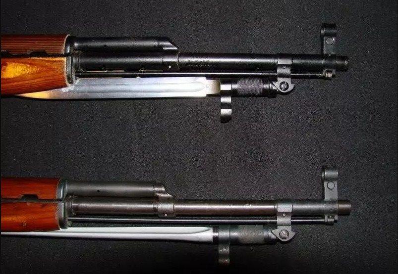 Ножевой и игольчатый штык для карабина