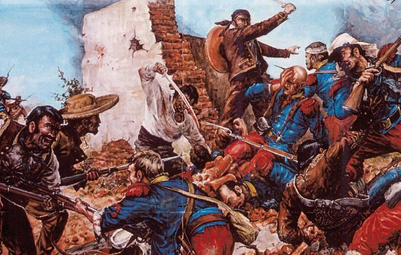 Первый бой легионеров