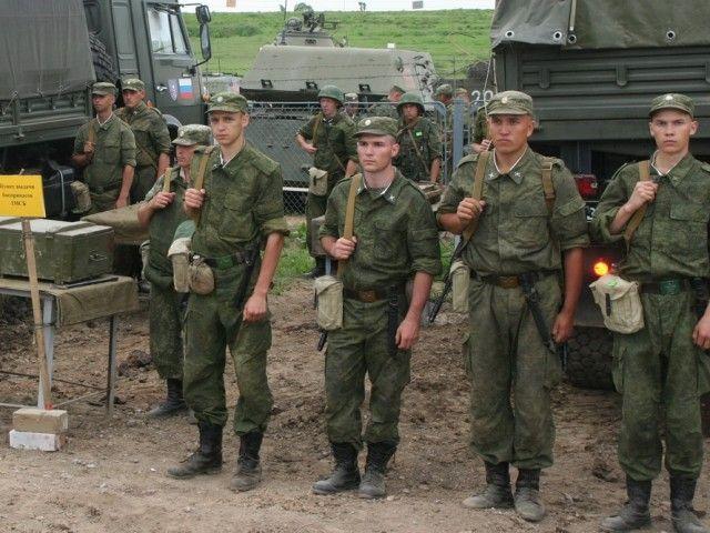Подразделение перед боевым выходом