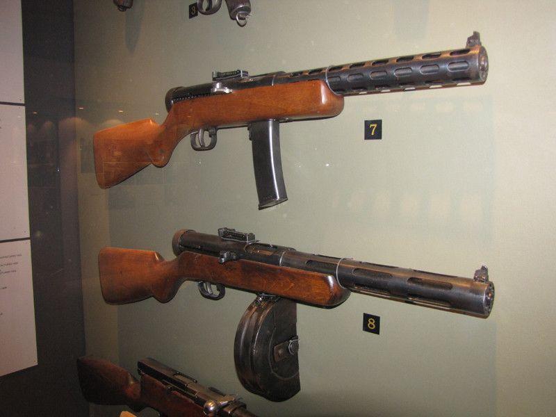 ППШ в музее