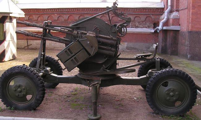 Пулемет на колесах