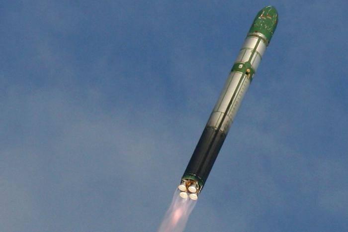 Ракета в полете
