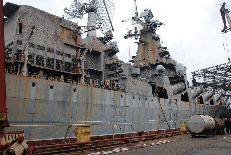 Ржавеющий корабль