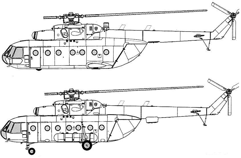 Схема Ми-8