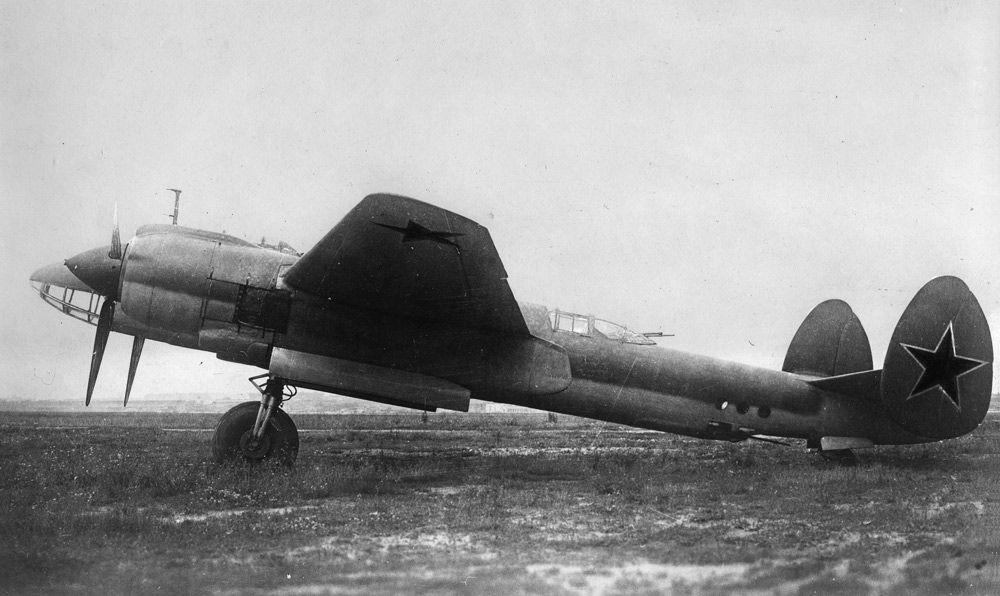 Ту-2 на полигоне