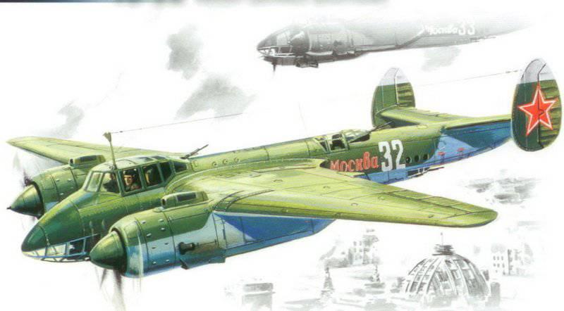 Ту-2 над Берлином