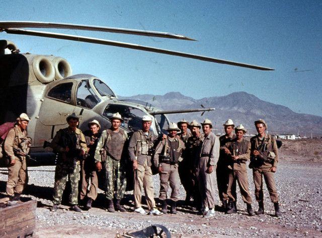 У вертолета в Афганистане