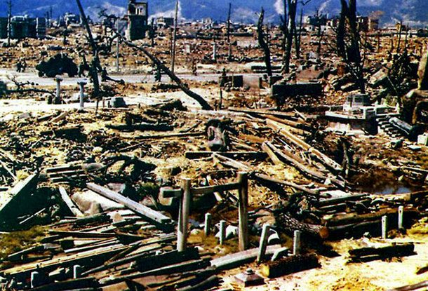 Уничтоженная Хиросима
