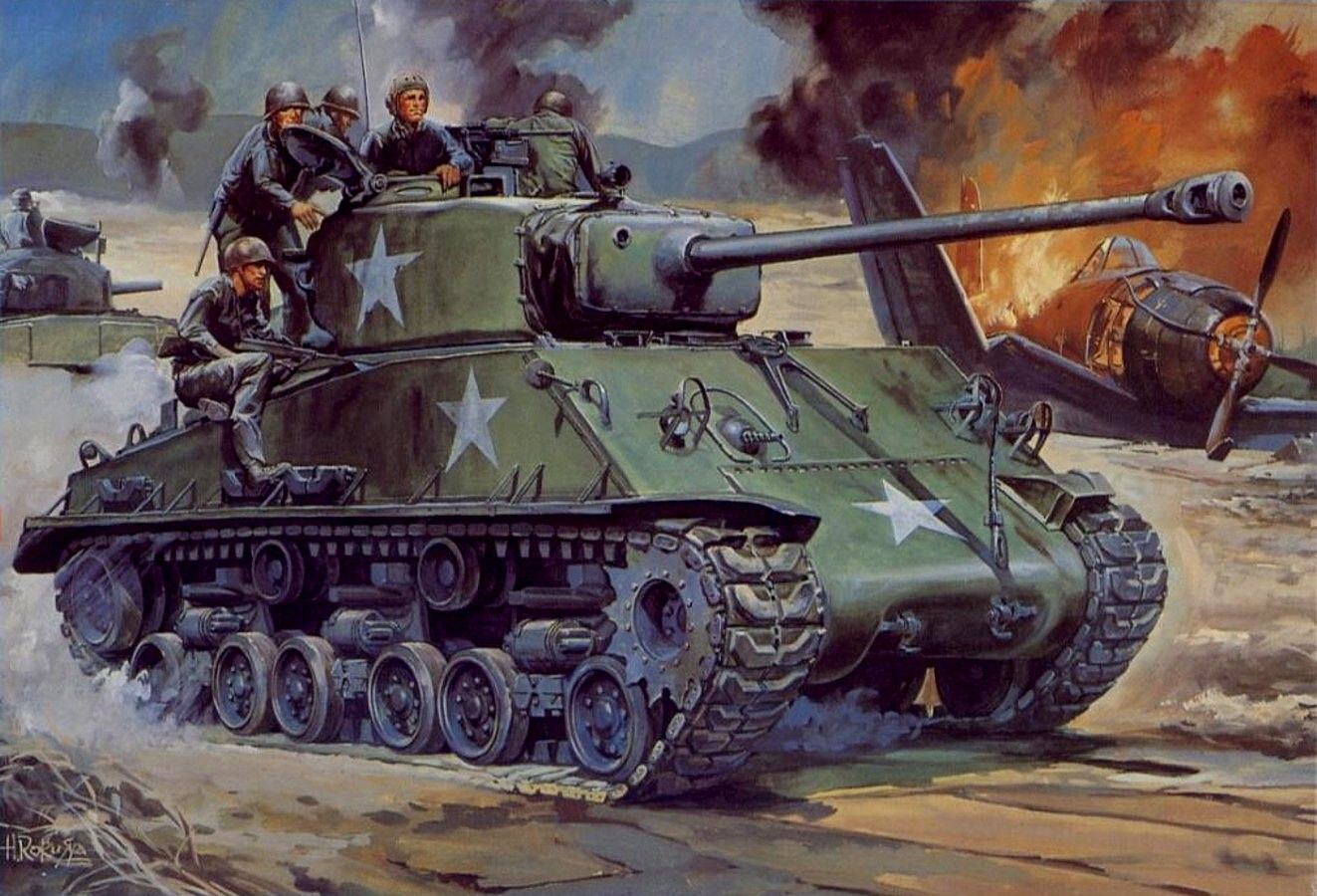В ходе Корейского конфликта