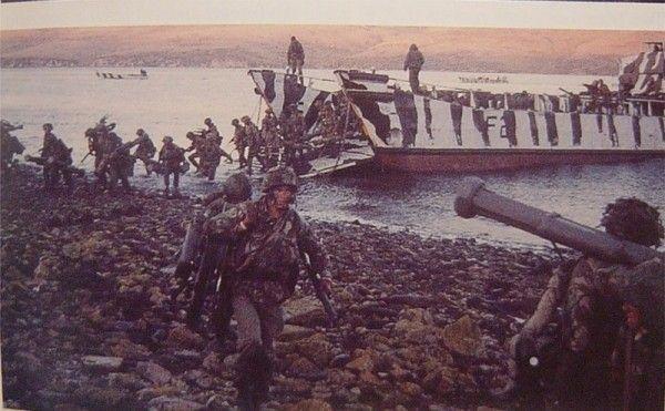 Высадка британских коммандос