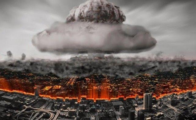 Взрыв ядерной бомбы