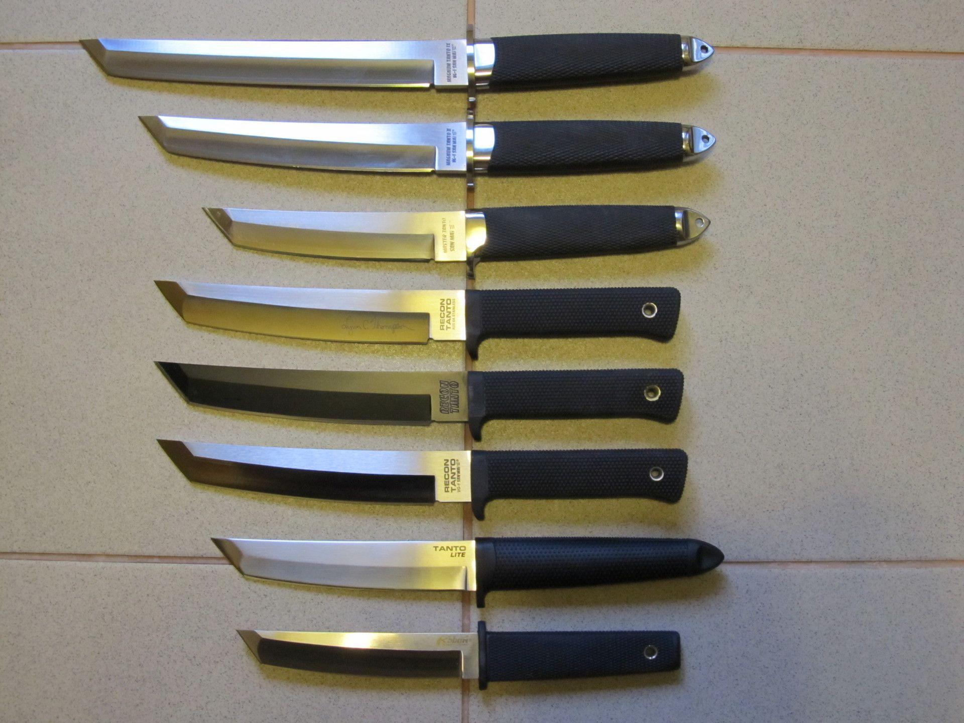 Японские ножи танто