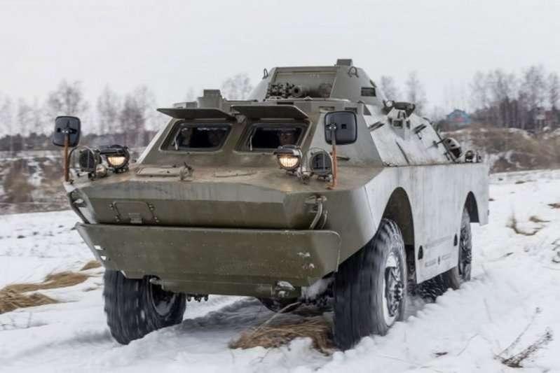БДРМ-2 в снегу