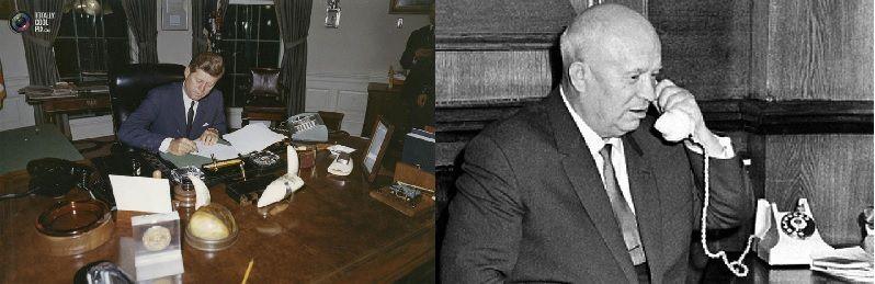Кеннеди и Хрущев