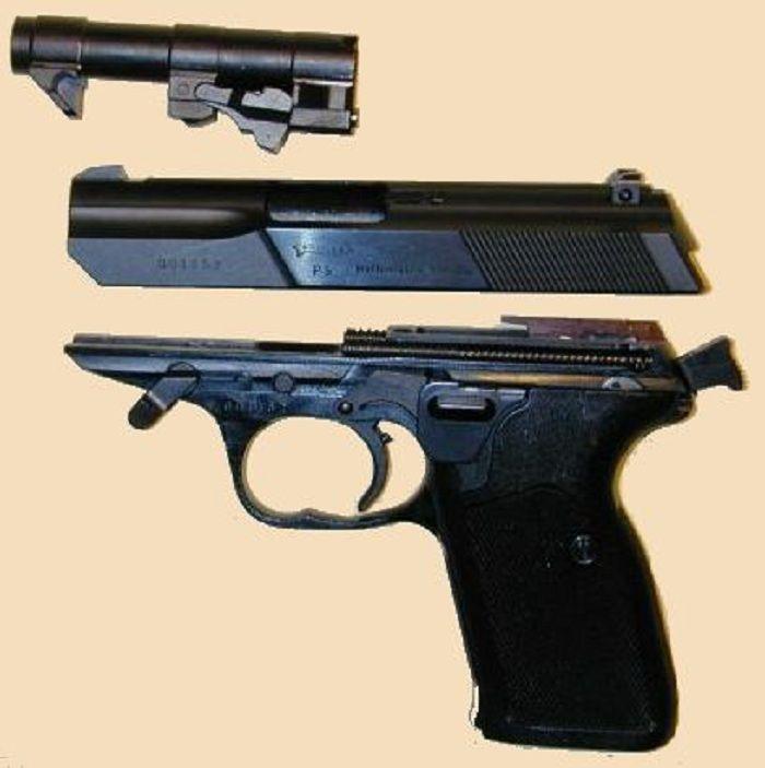 Конструкция пистолета Р5