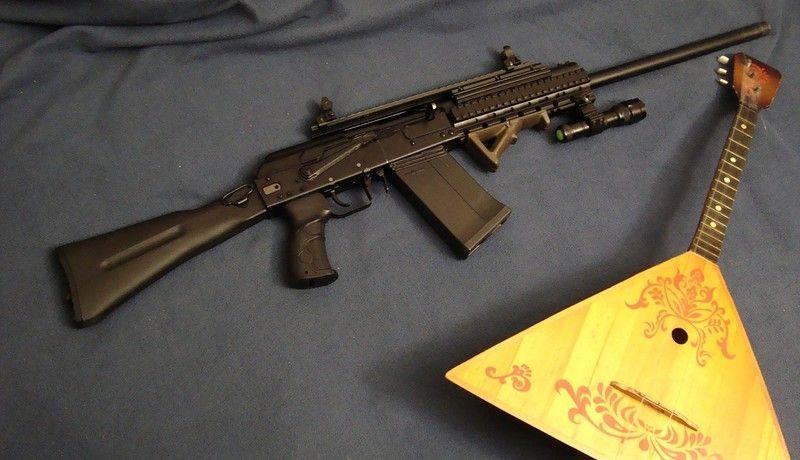 Модель с пистолетной рукоятью