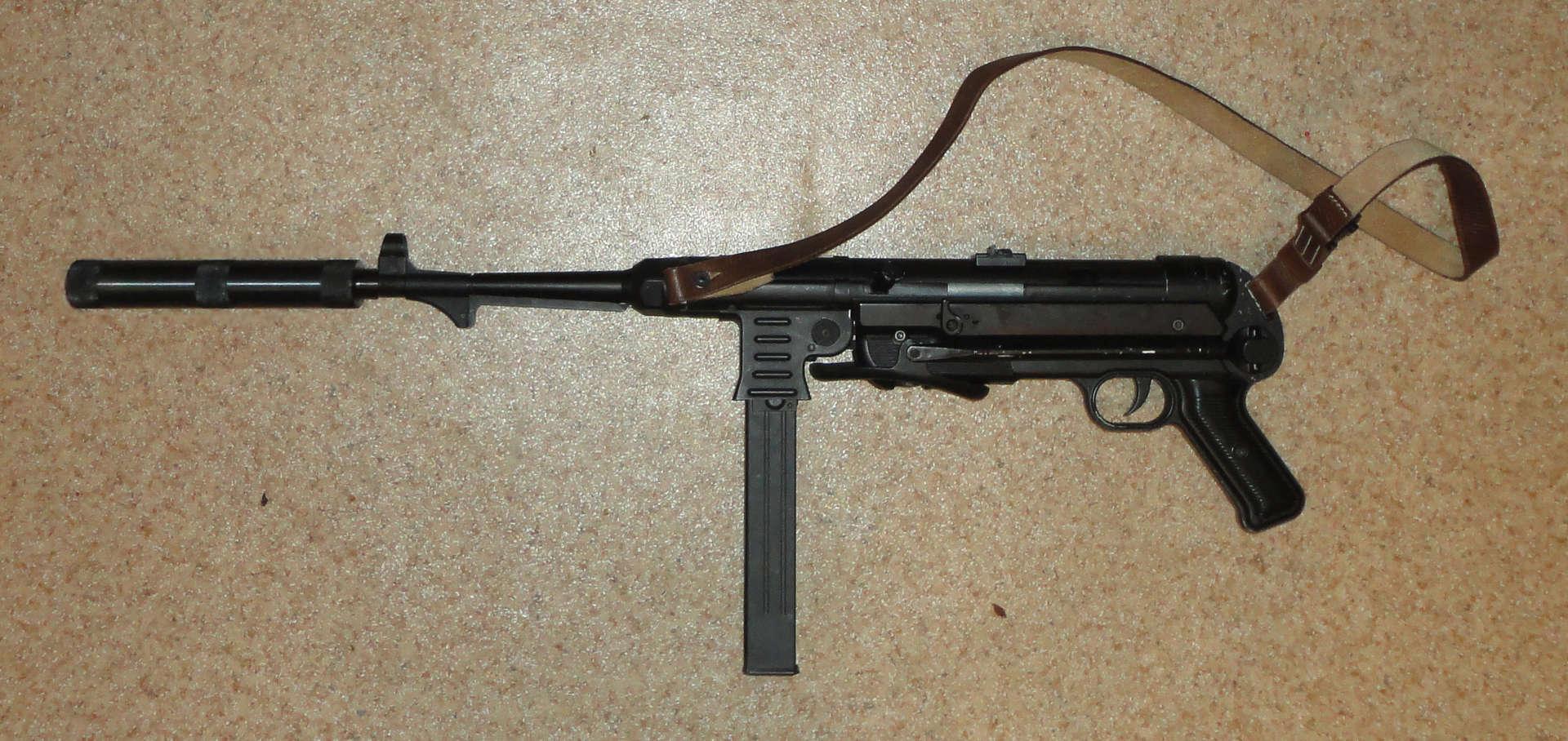 MP-40 с глушителем