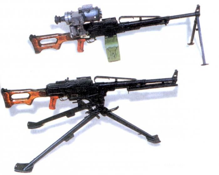 Оружие с сошками и станком