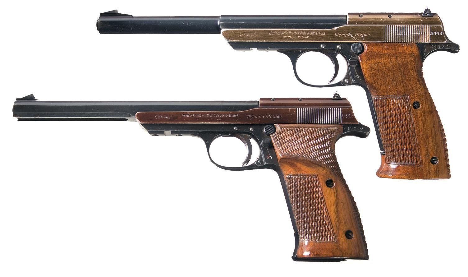 Пистолет Olympia
