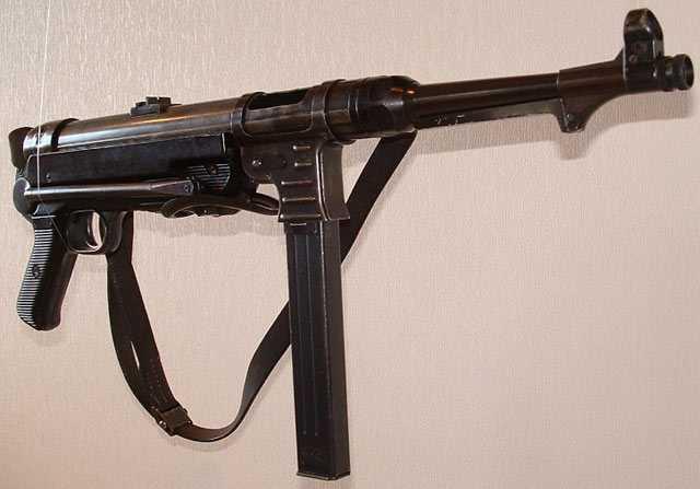 Пистолет-пулемет MP-40