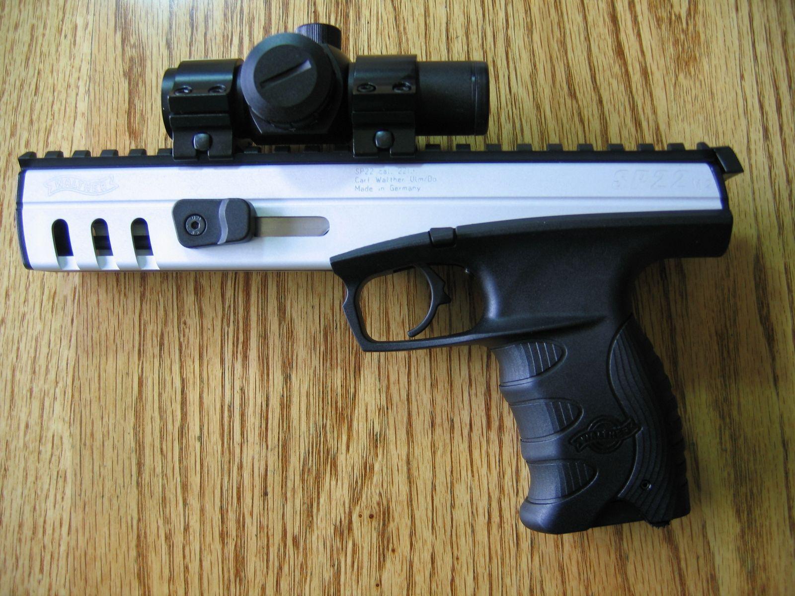 Пистолет SP22