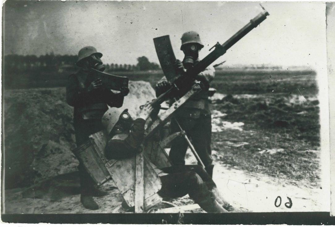 Солдаты с Эрликоном