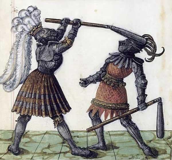 Сражение на кистенях
