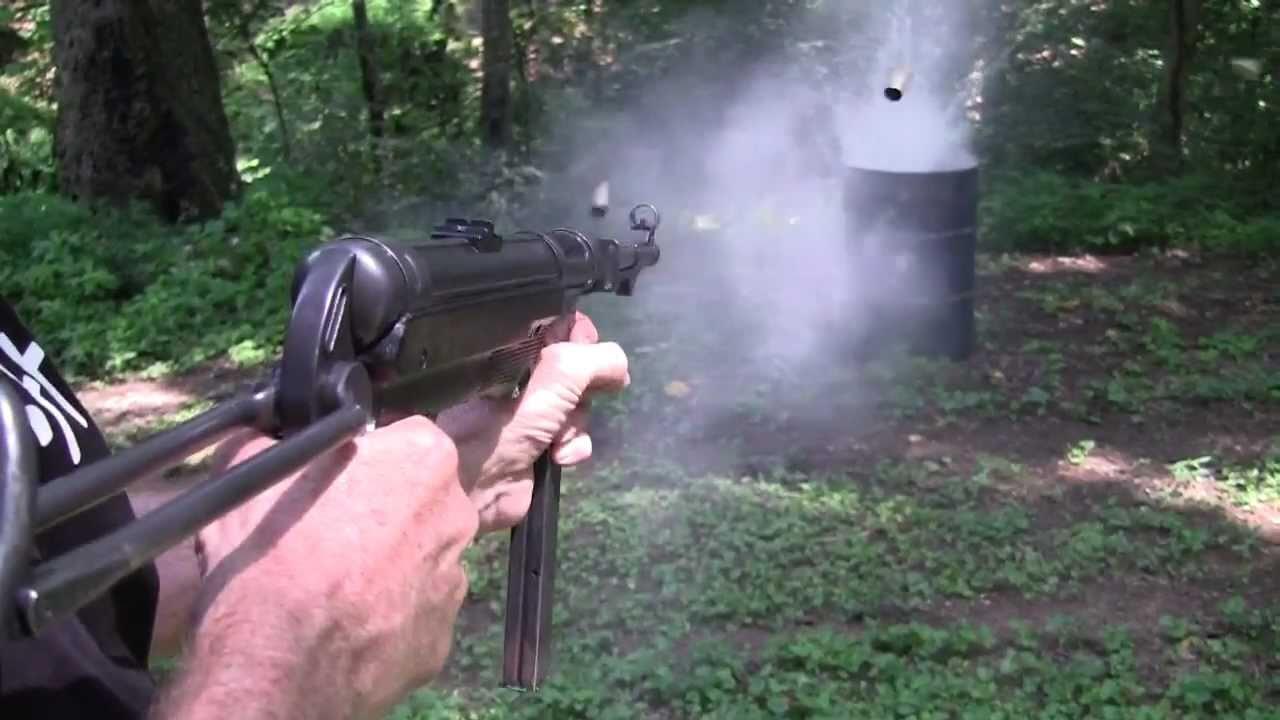 Стрельба из MP-40