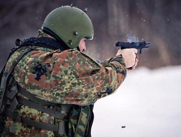 Стрельба из пистолета Ярыгина