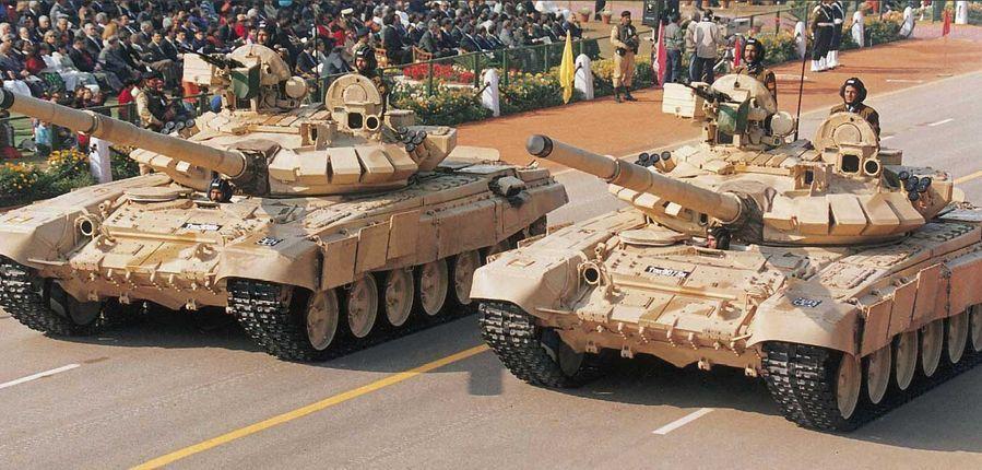Т-90 в Индии