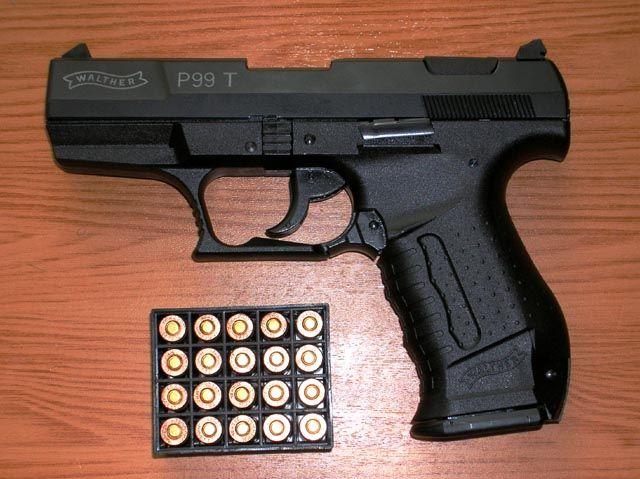 Травматический Walther P99T