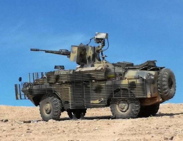Усовершенствованный дизельный БРДМ-2Д