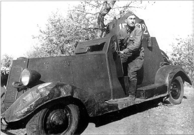 Водитель БА-20