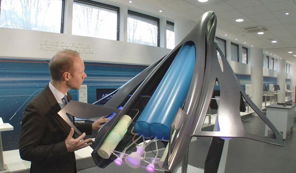 Ю-71 на выставке новых технологий