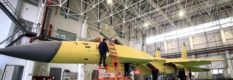 J-11D: в Китае скопировали Су-35