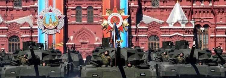 Военная техника на Дне Победы в Москве 9 мая 2019 года