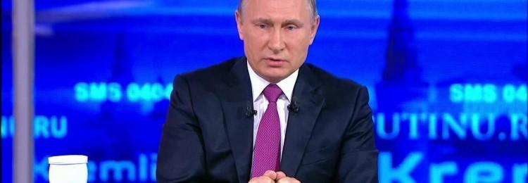 «Сказочно-противный» прямой эфир Путина