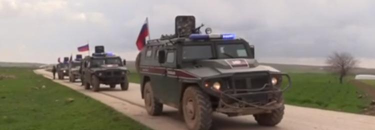 Теракт в Сирии на пути военной полиции РФ